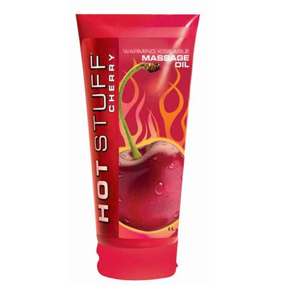 美国原装进口HotStuff-大容量水溶性润滑剂[樱桃味]